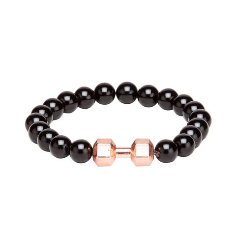 Bracelet - Black & Gold-Fashion-PropShop24.com