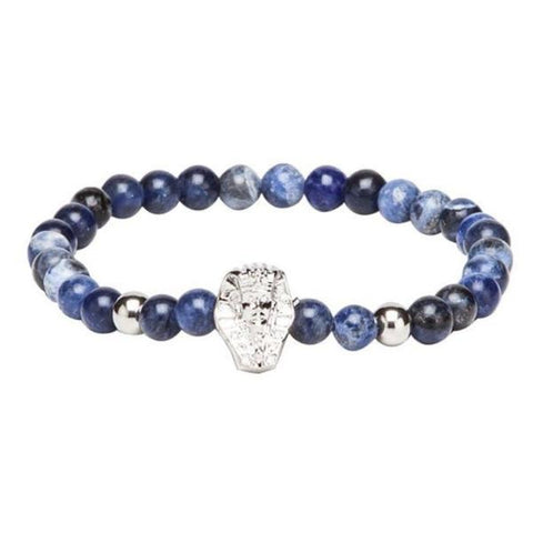 Bracelet - Blue, Black & Sliver-Fashion-PropShop24.com