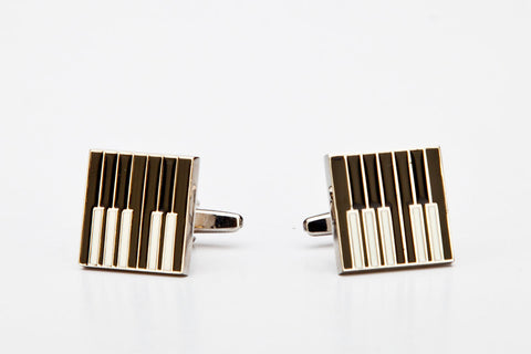 Cufflinks - PIANO KEYBOARD