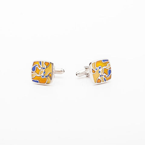 Cufflinks - YELLOW PUNCH
