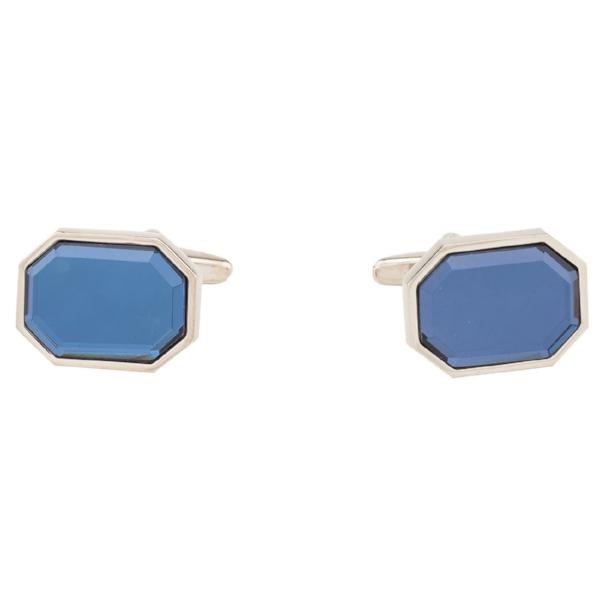 Cufflinks - Blue Octagon Stone-Fashion-PropShop24.com
