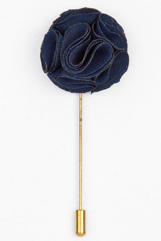 LAPEL PIN - BLUE FLOWER