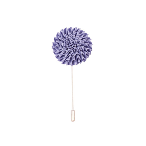 Lapel Pin - Light Blue Marigold Flower-Fashion-PropShop24.com