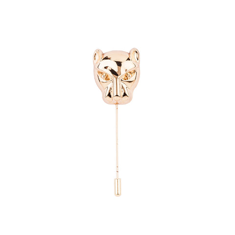 Lapel Pin - Golden Lion Mask-Fashion-PropShop24.com