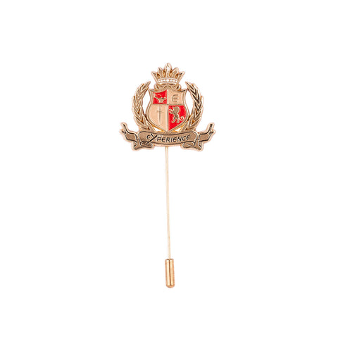 Lapel Pin - Golden Royal Emblem-Fashion-PropShop24.com