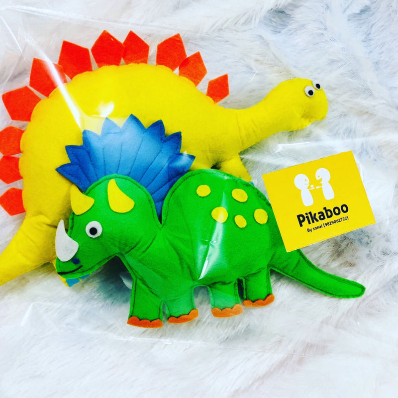 Cushion - Dinosaur - Set Of 2-HOME ACCESSORIES-PropShop24.com