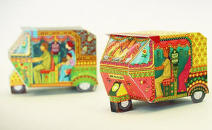 DIY Auto Rickshaw - Pink-DESK ACCESSORIES-PropShop24.com