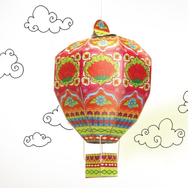 Diy Hot Air Balloon - Pink-STATIONERY-PropShop24.com