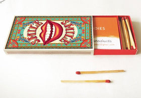 Diy Matchbox Business Card Holder - Smile-DESK ACCESSORIES-PropShop24.com