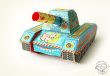Diy Army Tank Pen Holder & Boxes - Colorful-STATIONERY-PropShop24.com