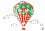 Big Diy Hot Air Balloon Lamp Shade: Red Design-HOME-PropShop24.com