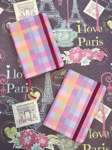 notebook - Prismatic Ghimgham-Stationery-PropShop24.com
