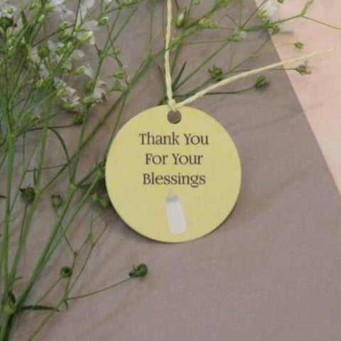 Thank You Tags - baby shower - Set of 15-Stationery-PropShop24.com