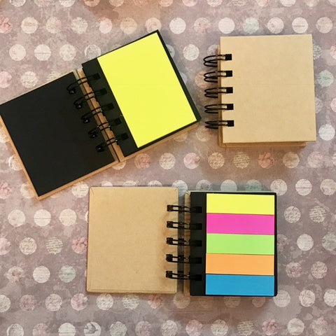 mini diary - post it-Stationery-PropShop24.com