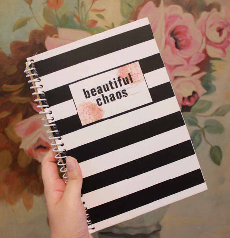 Notebook - Beautiful Chaos-Stationery-PropShop24.com