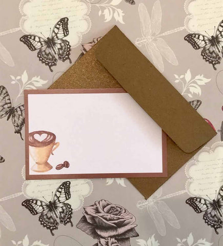notecards - Coffee Cup-Stationery-PropShop24.com