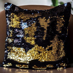 Colour Changing Cushion Cover - Black Gold-Home-PropShop24.com