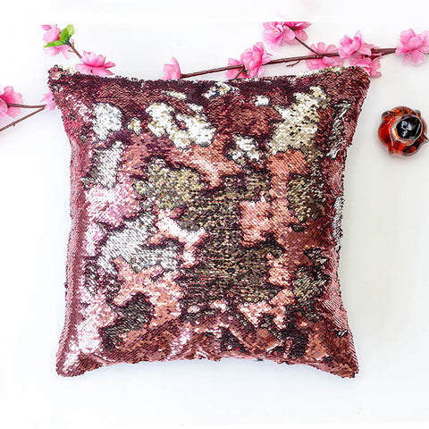 Colour Changing Cushion Cover - Pink Silver-Home-PropShop24.com