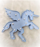 Marquee Night Table Lamp - Unicorn - Blue-HOME-PropShop24.com