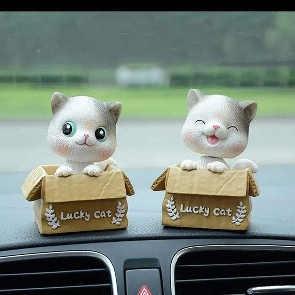 Cat Bobble Heads-CAR ACCESSORIES-PropShop24.com