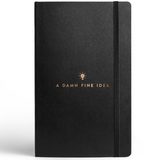 Idea Journal With Elastic Band- Blank Pages-Stationery-PropShop24.com