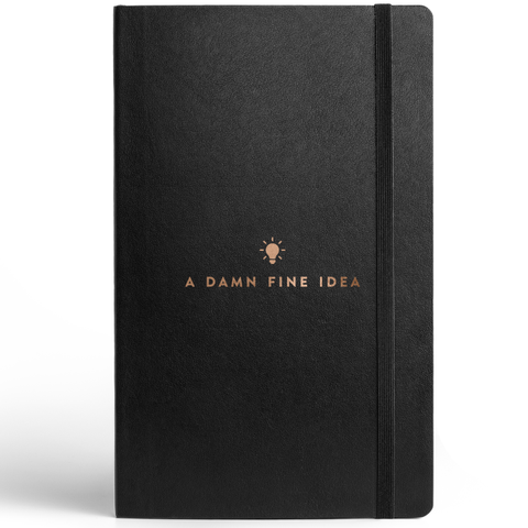 Idea Journal with Elastic Band-Stationery-PropShop24.com