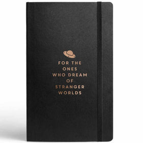 Stranger Worlds Journal With Elastic Band-Stationery-PropShop24.com