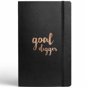 Goal Digger Journal With Elastic Band-Stationery-PropShop24.com