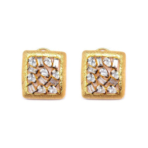 Earrings - Azora Square-EARRINGS-PropShop24.com