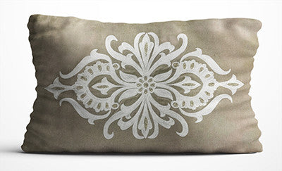 Cushion Cover - Beige & White-HOME ACCESSORIES-PropShop24.com