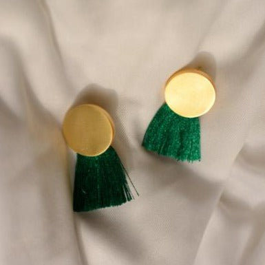 Tassle Earrings - Gold-EARRINGS-PropShop24.com