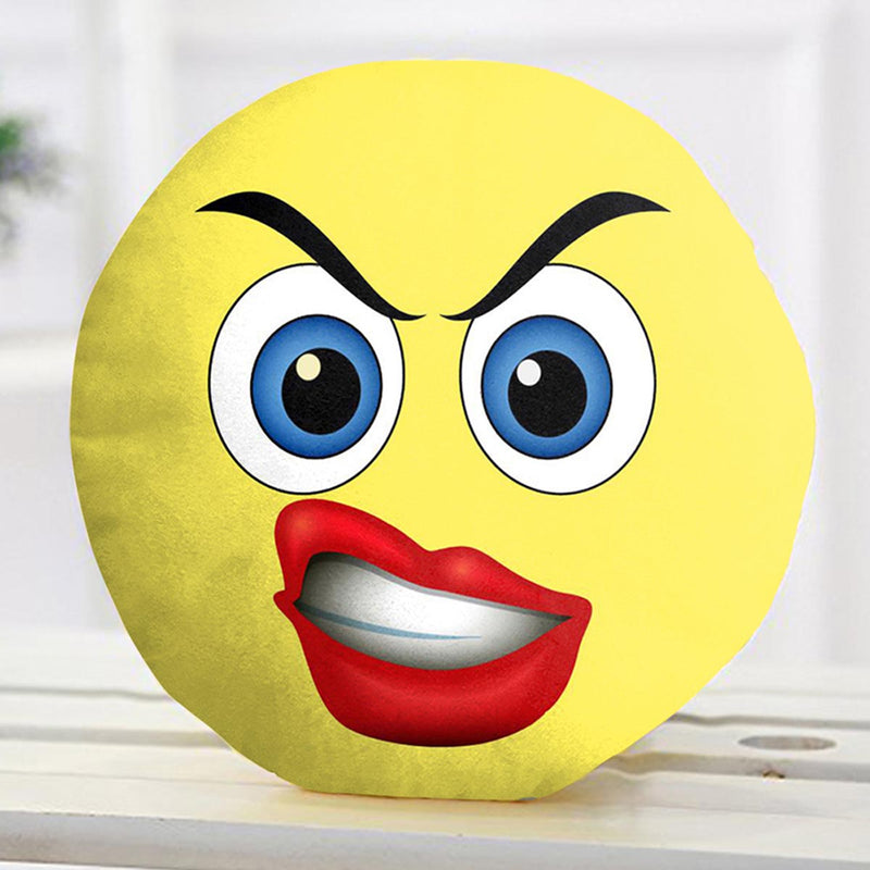 Emoji Cushions - Bitch Face-HOME ACCESSORIES-PropShop24.com