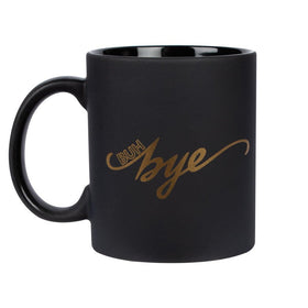 Coffee Mug - Buh Bye - Matte Black-HOME-PropShop24.com