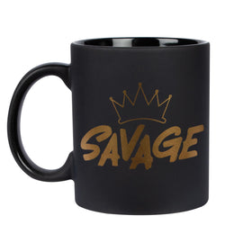 Coffee Mug - Savage - Matte Black-HOME-PropShop24.com