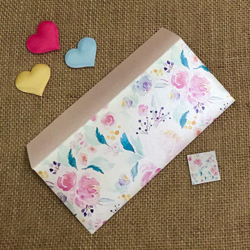 Envelope - Floral-GIFTING ACCESSORIES-PropShop24.com