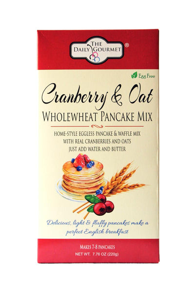 Egg-Free Cranberry and Oat Pancake Mix-FOOD-PropShop24.com