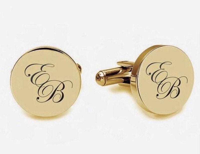Personalized - Cufflinks - Engrave - C.O.D Not Available-MEN-PropShop24.com
