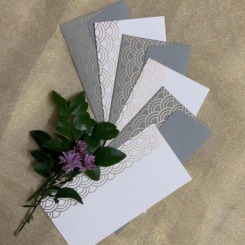 Gift Envelopes - Oriental Odyssey - Set Of 6-GIFTING ACCESSORIES-PropShop24.com