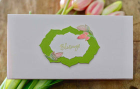 Envelope - Blessings (Pink)-STATIONERY-PropShop24.com