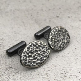 Ripple Cufflinks-MENS-PropShop24.com