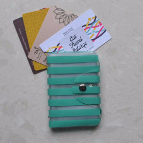 Card Holder - Blue Stripe - propshop-24