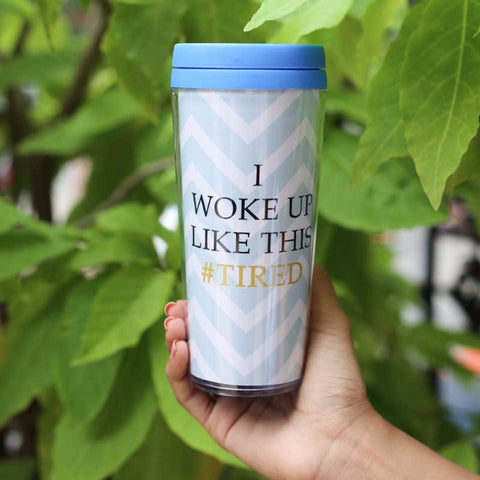 Travel Mug - I Woke up like this - propshop-24