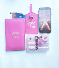 Girl Boss - Luggage Tag , Passport Cover-Fashion-PropShop24.com