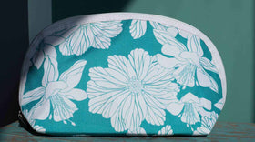Blue Floral - Pouch-Fashion-PropShop24.com