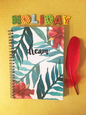 Tropical Dream- Spiral Notebook-Stationery-PropShop24.com