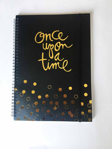 Notebook - Once upon a time (A4)-Stationery-PropShop24.com