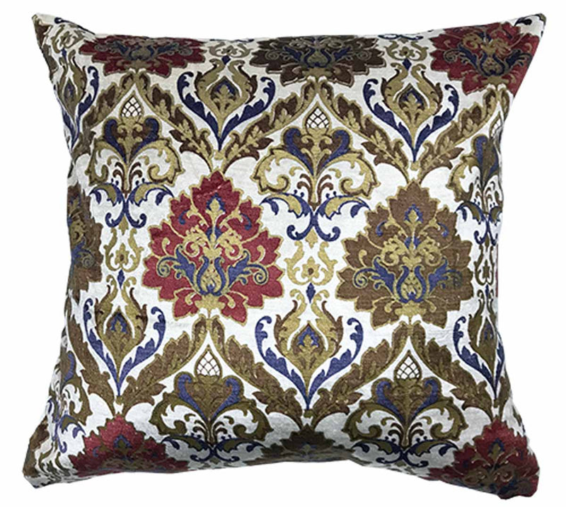 Cushion Cover - Ivory Blue-HOME ACCESSORIES-PropShop24.com