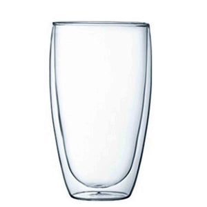 Double Wall Tall Cocktail Glasses - 450ml - Set Of 2-DINING + KITCHEN-PropShop24.com