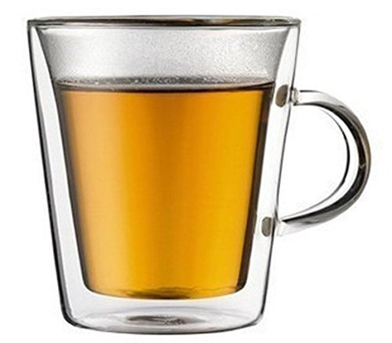 Double Wall Mugs - 200ml - Set Of 4-DINING + KITCHEN-PropShop24.com