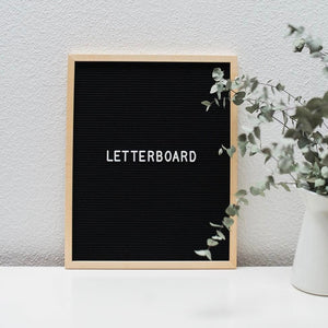 Big Letterboard Wooden Frame-HOME ACCESSORIES-PropShop24.com